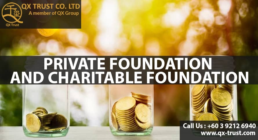 Private Foundation and Charitable Foundation