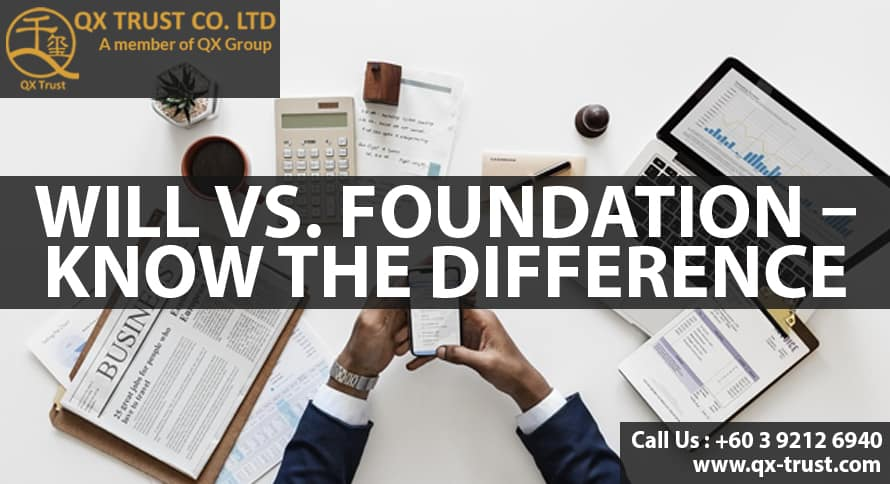 Will vs. Foundation – Know the Difference