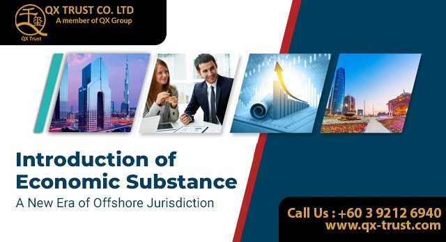 Introduction of Economic Substance | QX Trust | Offshore Labuan Consultants Malaysia