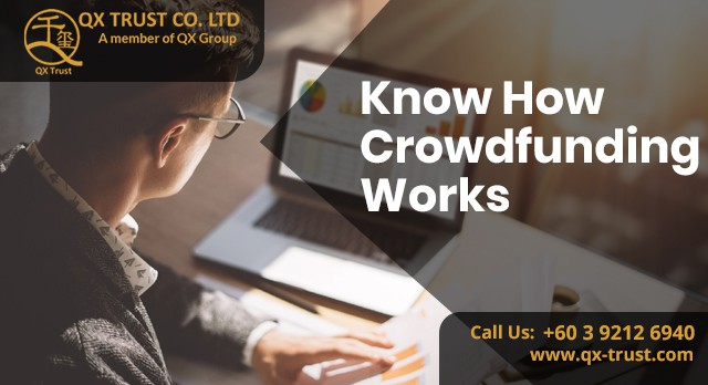 Know How Crowdfunding Works | QX Trust | Offshore Labuan Consultants Malaysia